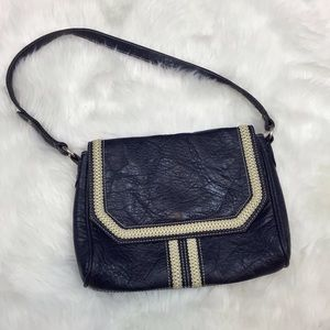 ☂️CHRISTOPHER & BANKS Blue Country Style Purse